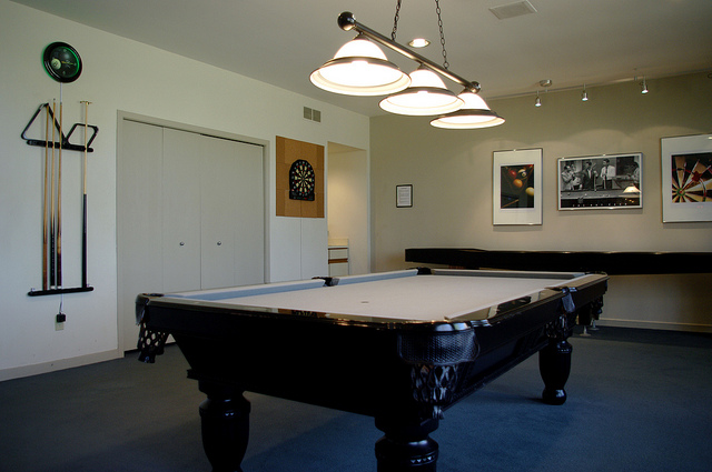 Pool Tables on Carpet or Hardwood Floors