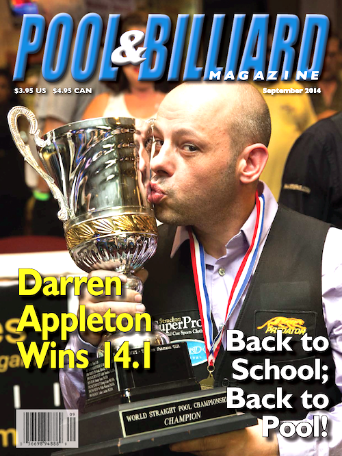 Pool and Billiard Magazine September 2014