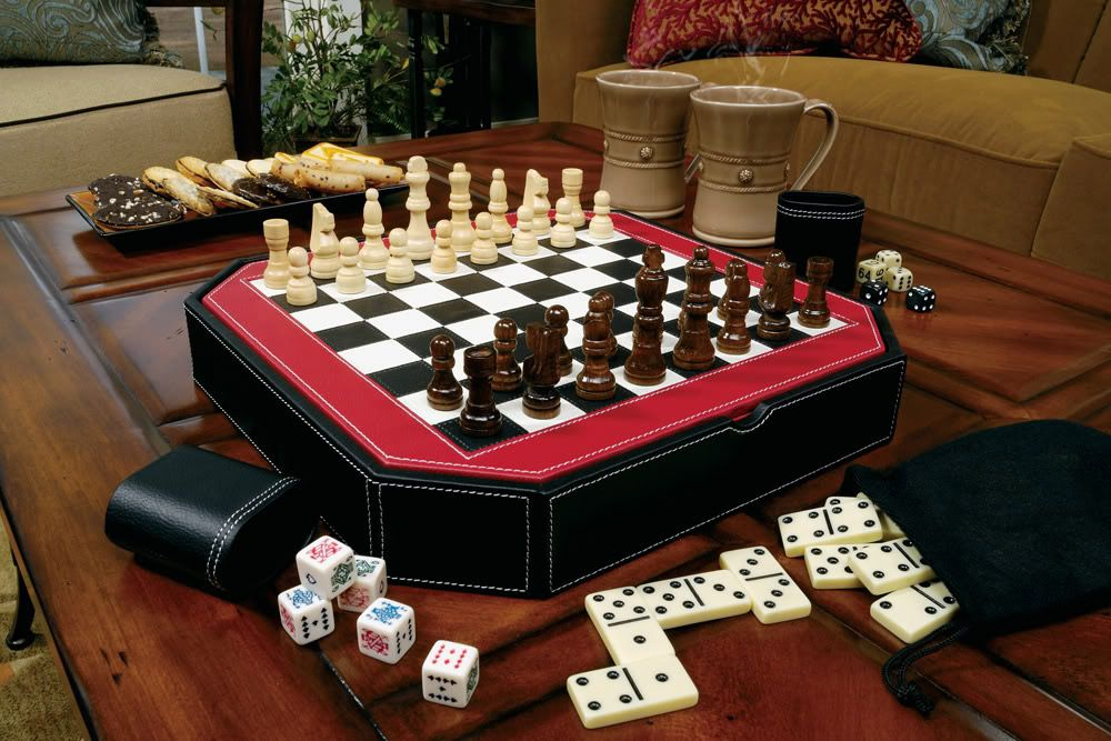 5 in 1 Game Table Set