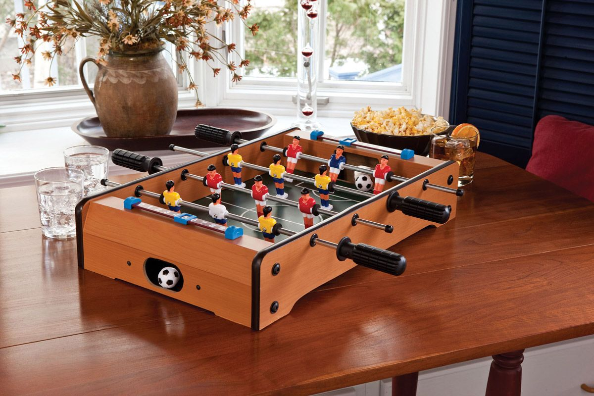Mini Tabletop Foosball Table