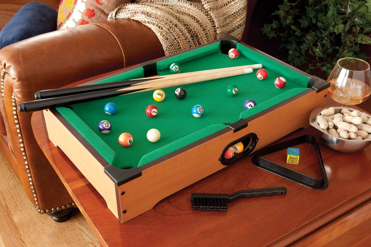 Miniature Tabletop Pool Table