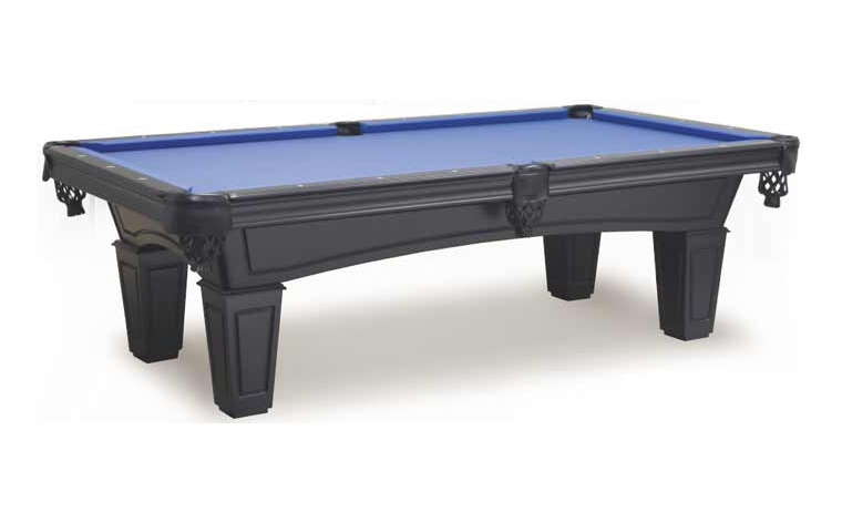 Imperial Shadow Black Pool Table