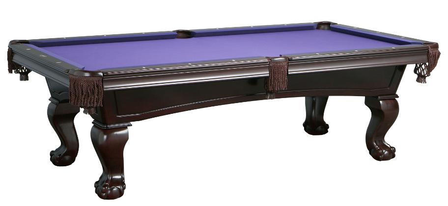 Lincoln Mahogany Pool Table