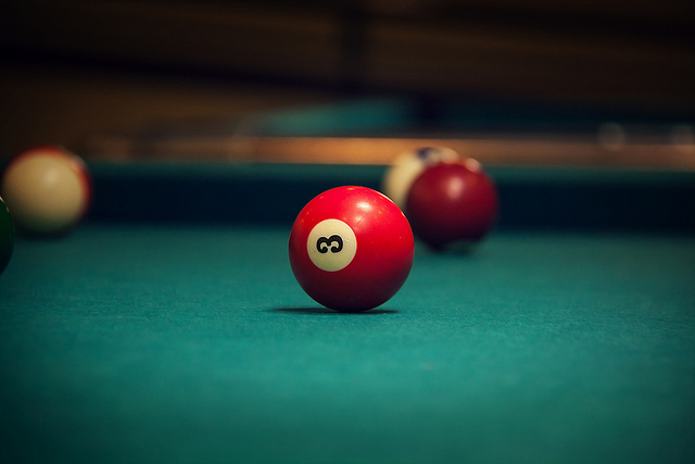 Pool table 3 ball