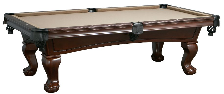 The Lincoln Billiard Pool Table is available in 7' and 8'