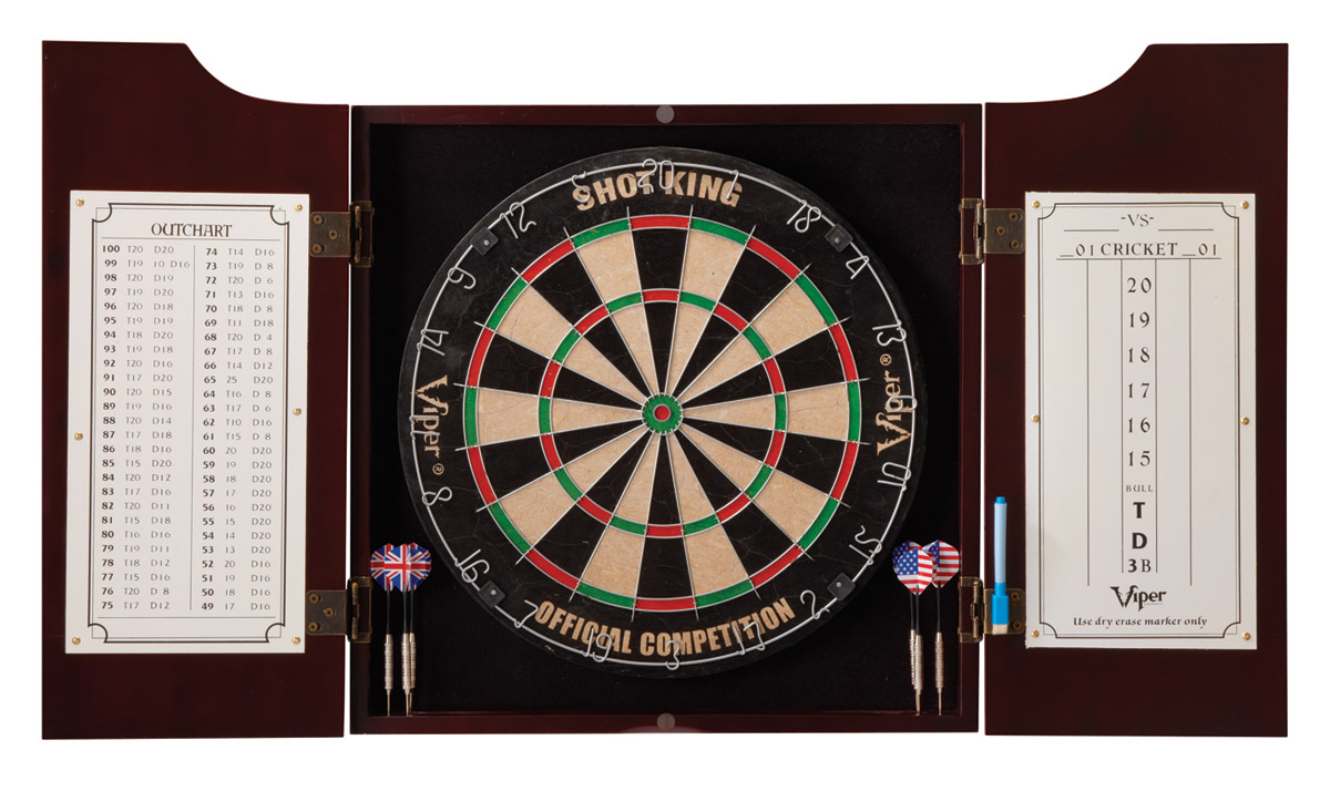 Hudson All-in-One Dart Board Center