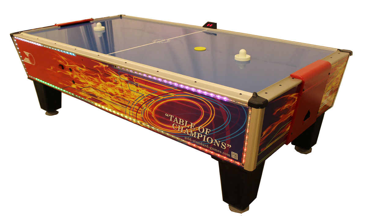 Gold Standard Gold Flare Professional Air Hockey Table