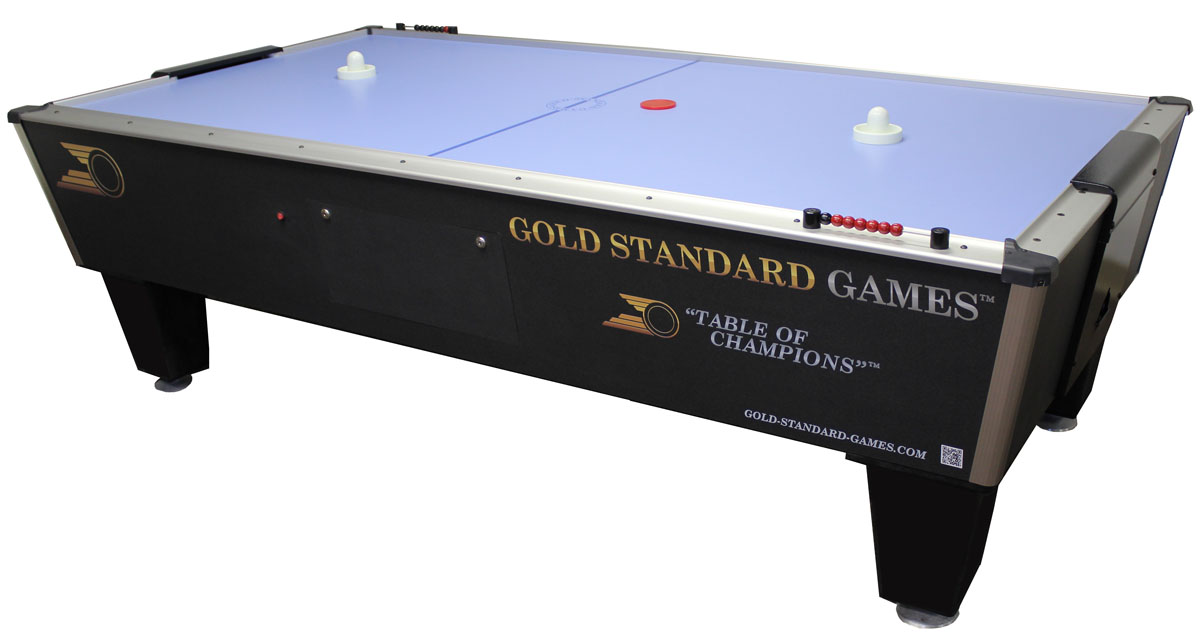 Gold Standard Tournament Ice Pro Air Hockey Table