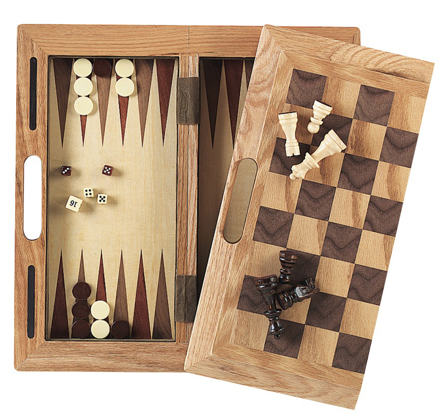 3-in-1 Wood Game Set for Children
