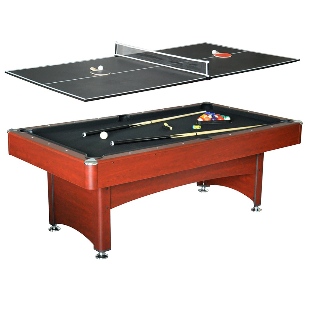 Bristol 7' Pool Table with Table Tennis