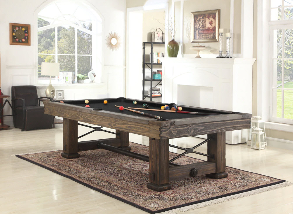 8' Rio Grande Slate Pool Table