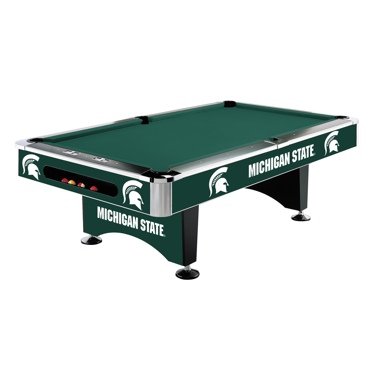 MICHIGAN STATE 8-FT. POOL TABLE