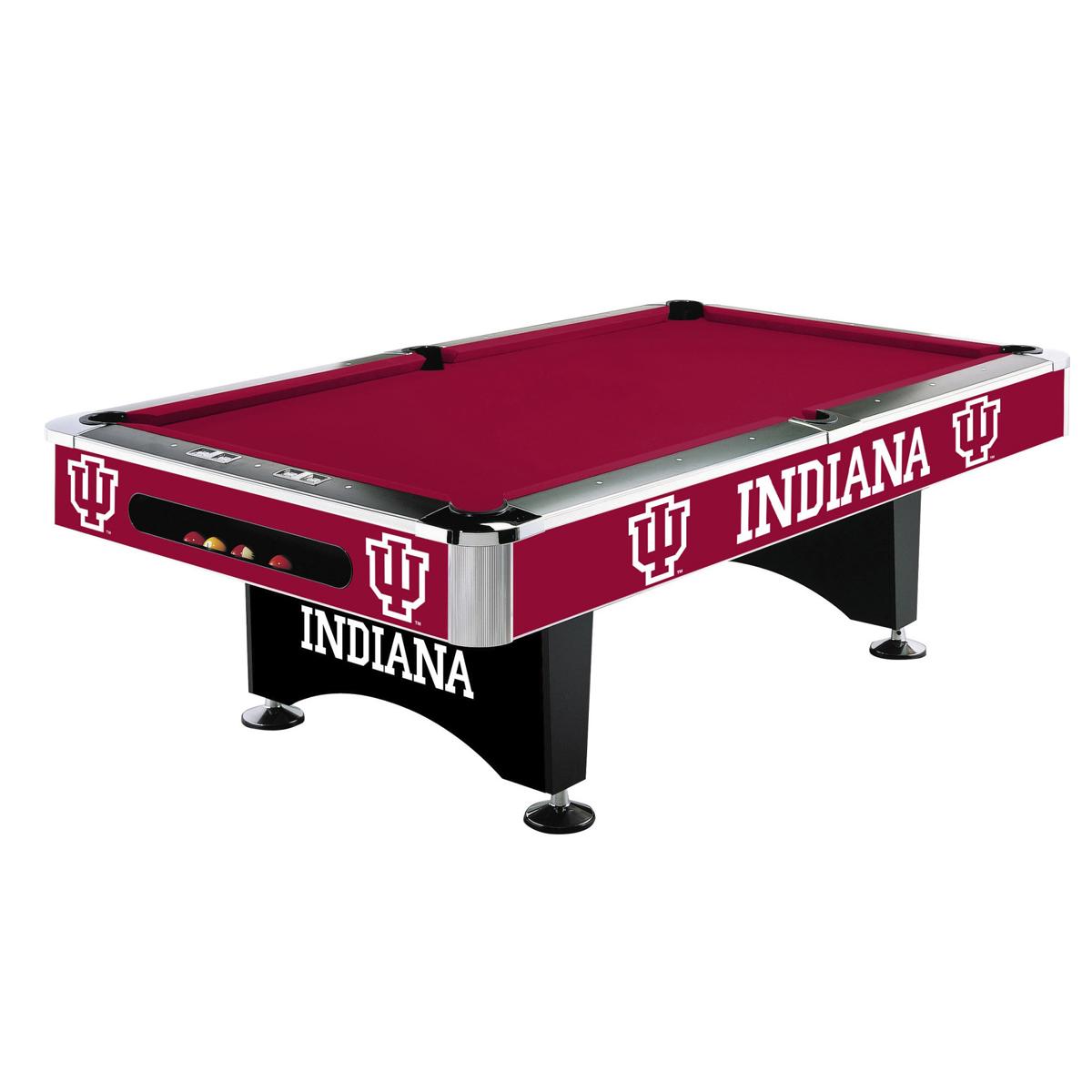 INDIANA UNIVERSITY 8-FT. POOL TABLE