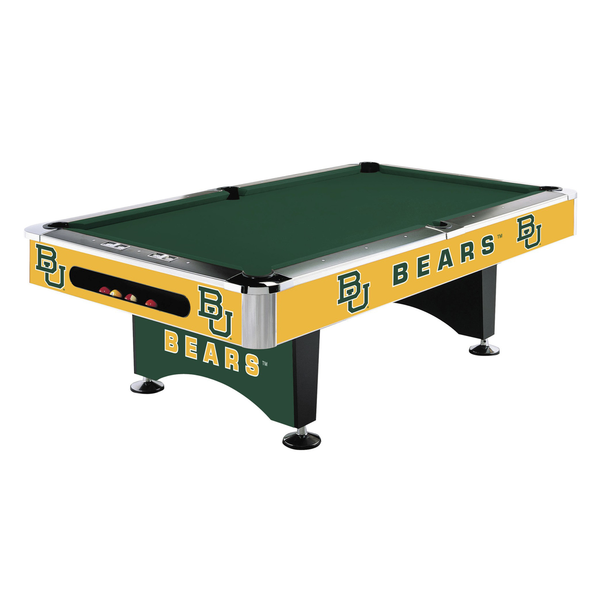 BAYLOR UNIVERSITY 8-FT. POOL TABLE