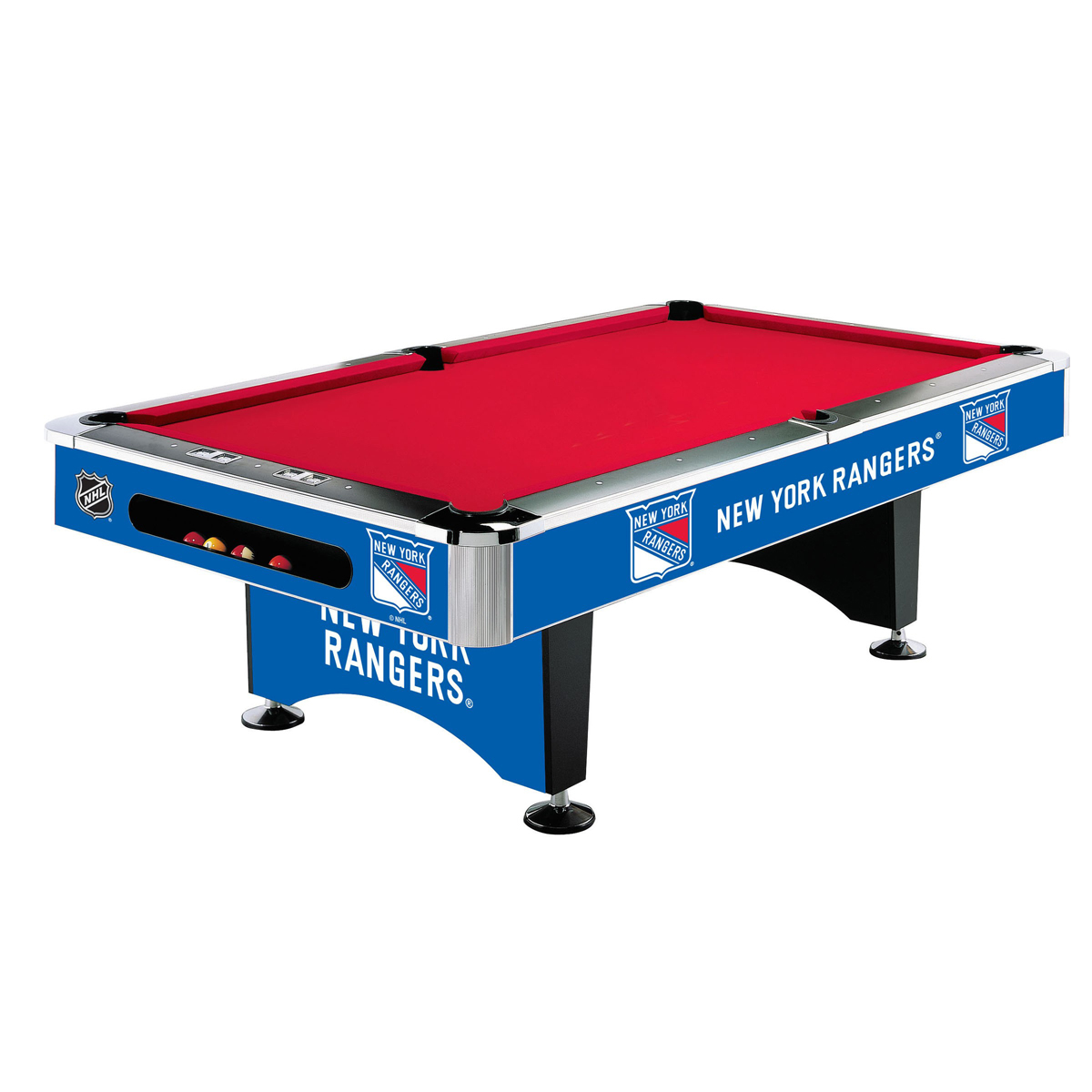 NEW YORK RANGERS® 8-FT. POOL TABLE