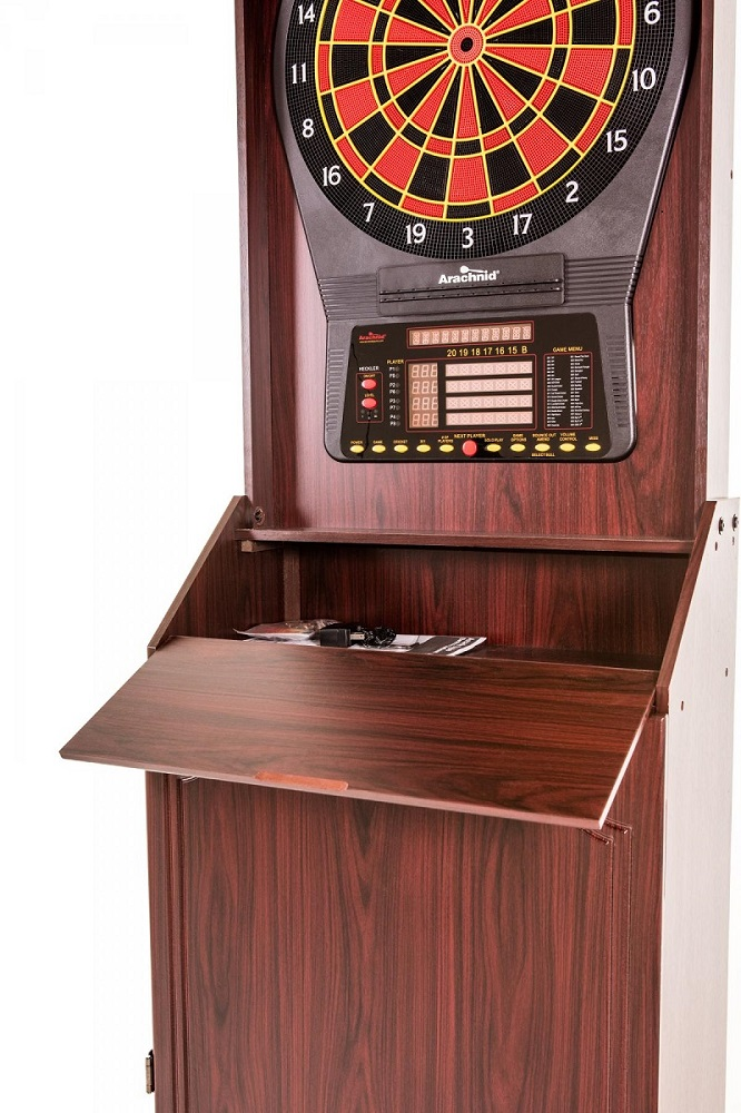 Arcade Style Dartboard Cabinet Gametablesonline Com