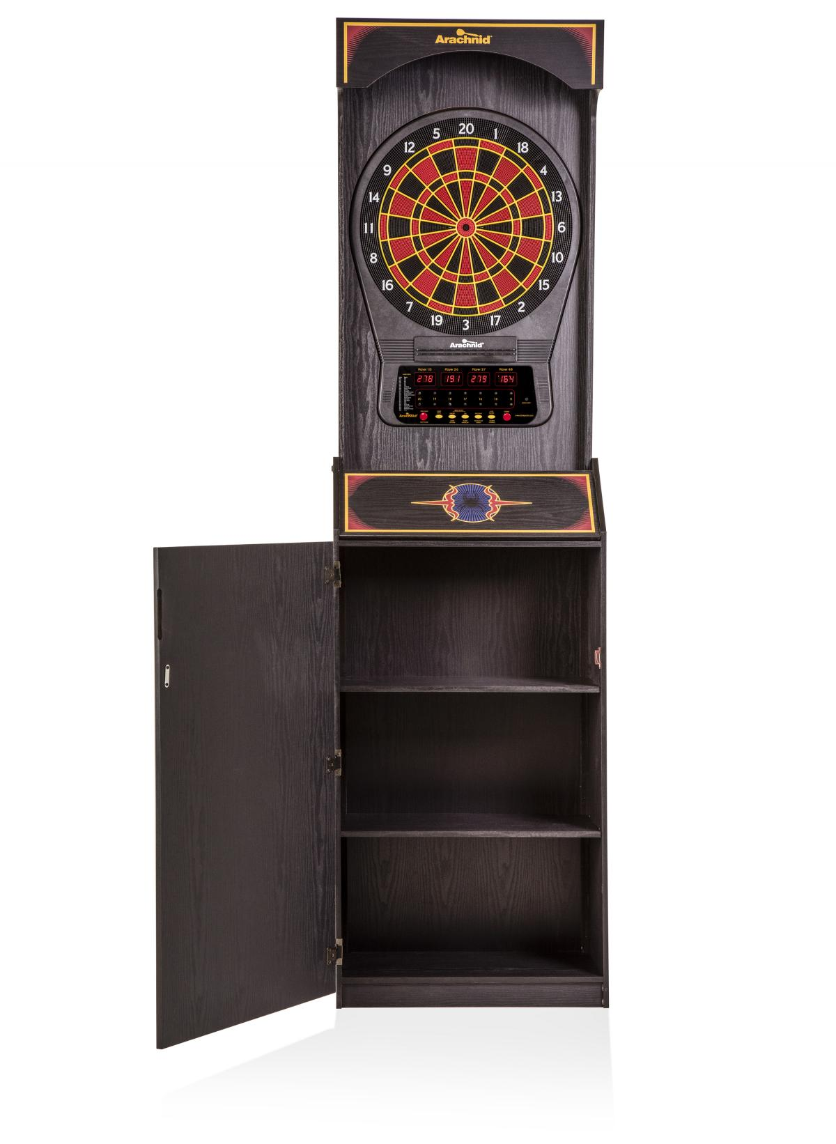 Bull Shooter Electronic Dartboard Cabinet