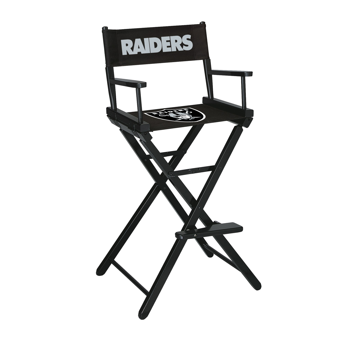 OAKLAND RAIDERS BAR HEIGHT DIRECTORS CHAIR