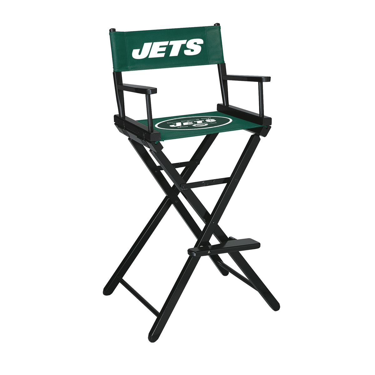 NEW YORK JETS BAR HEIGHT DIRECTORS CHAIR