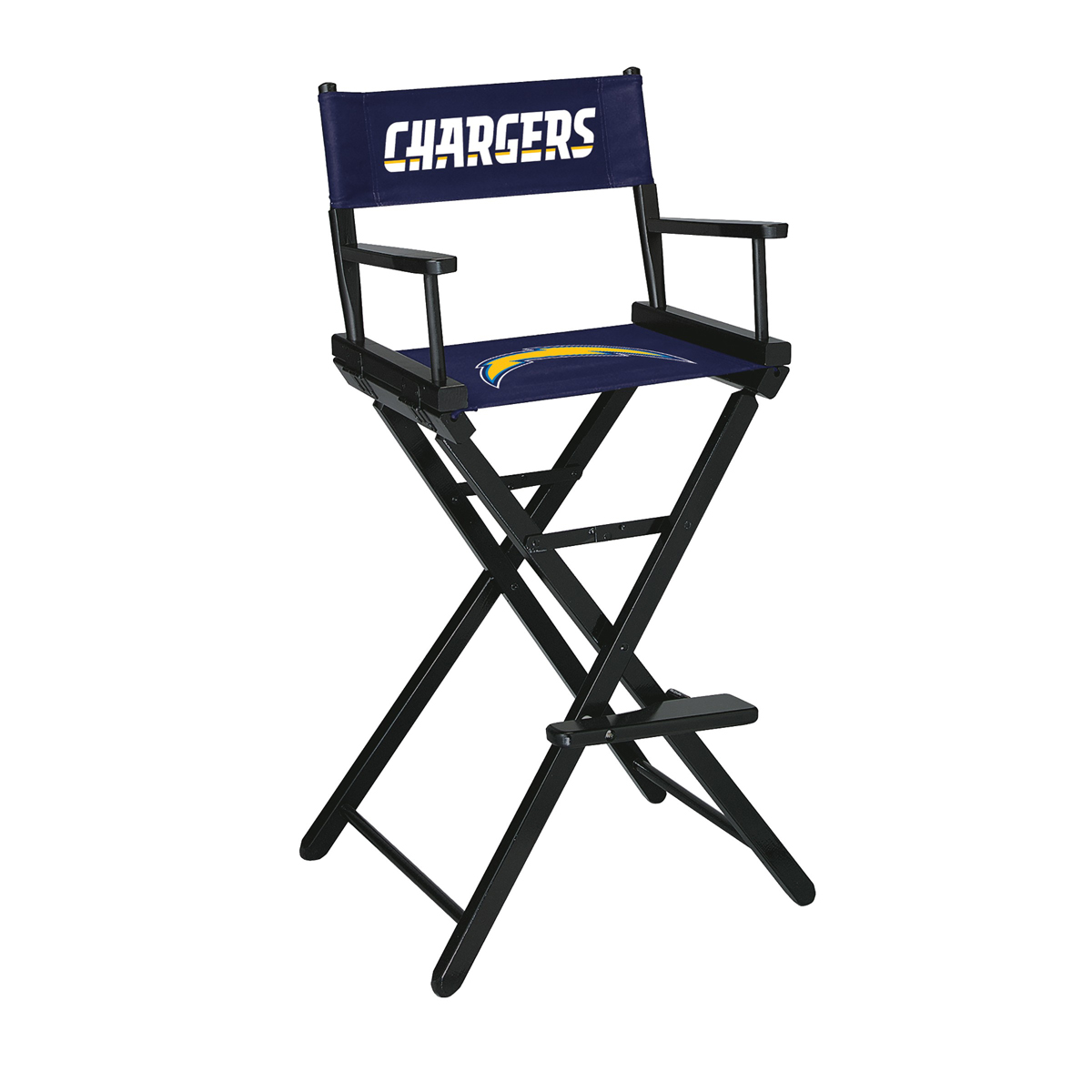 LOS ANGELES CHARGERS BAR HEIGHT DIRECTORS CHAIR
