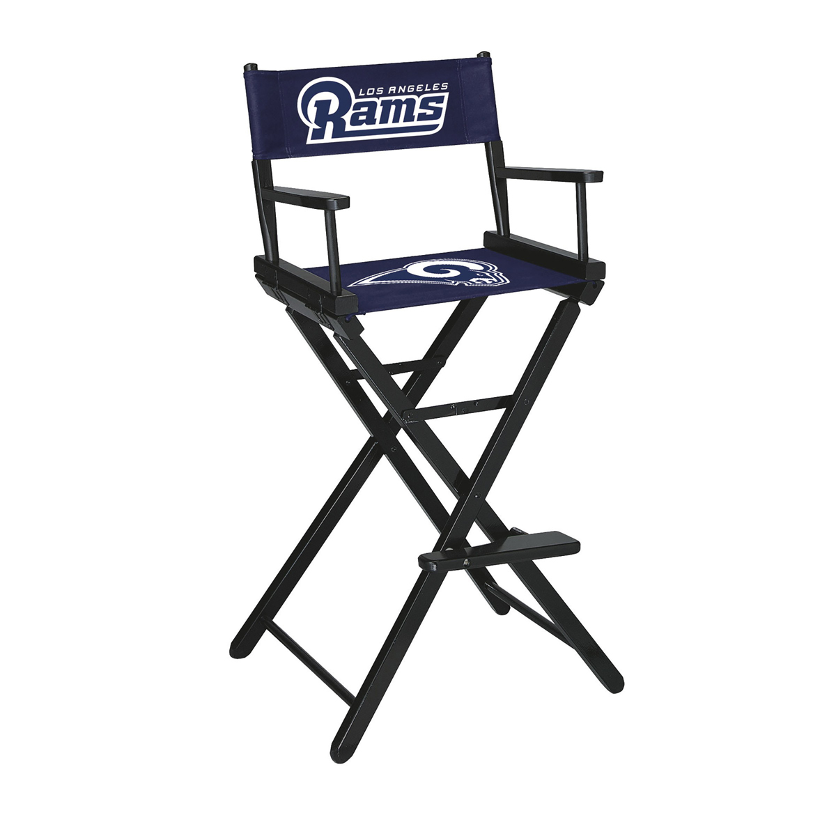 LOS ANGELES RAMS BAR HEIGHT DIRECTORS CHAIR