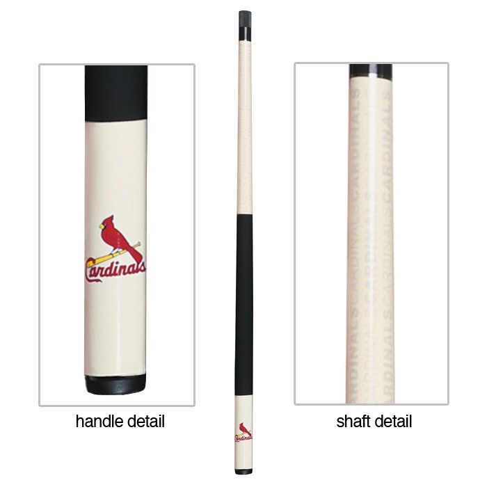 ST. LOUIS CARDINALS BILLIARD CUE