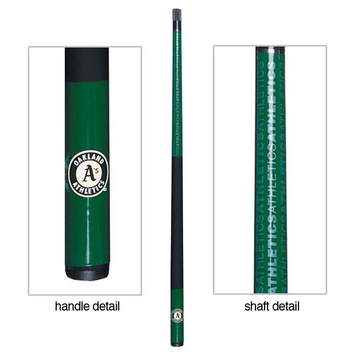 OAKLAND ATHLETICS BILLIARD CUE