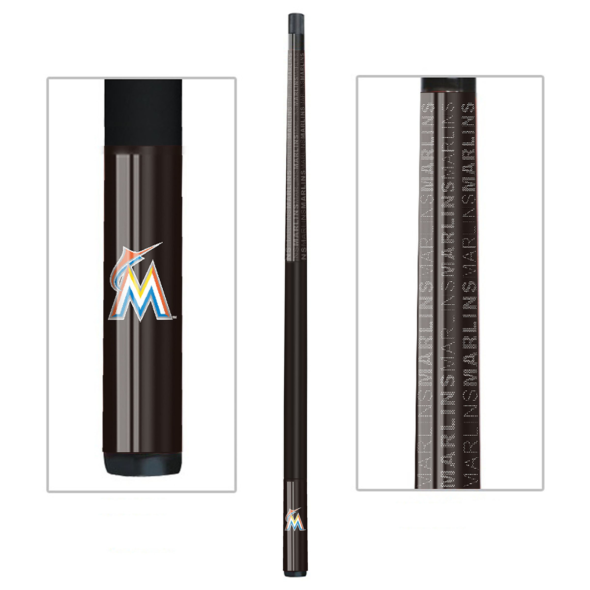 SKU# IMP__259-2024 Your Price: $175.00 Add to build an order Add to compare Miami Marlins Billiard Cue MIAMI MARLINS BILLIARD CUE