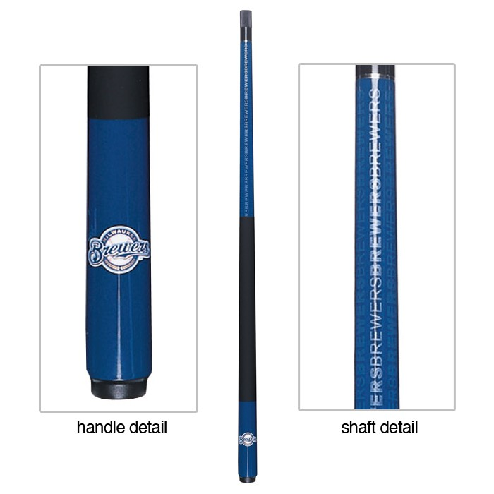MILWAUKEE BREWERS BILLIARD CUE