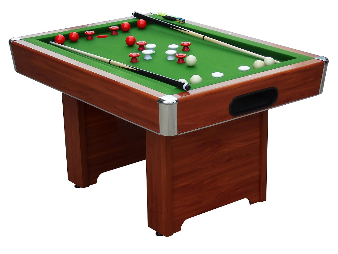 Hartford wood bed bumper pool table game tables online - Bumper pool bumpers ...