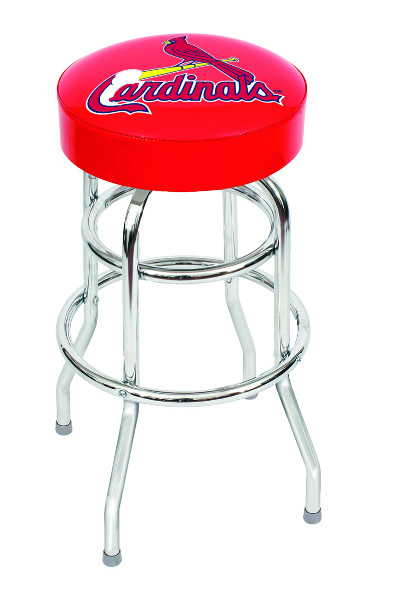 "ST. LOUIS CARDINALS 30"" BAR STOOL"