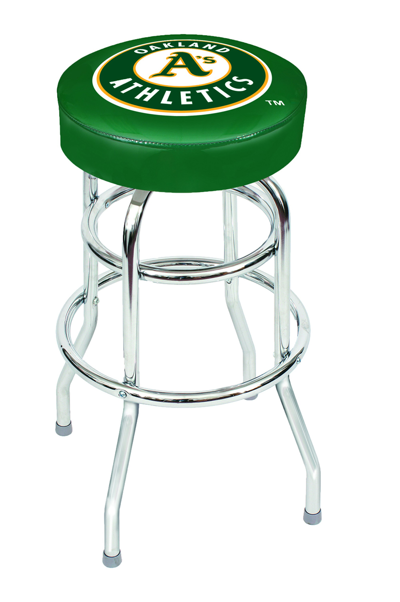 "OAKLAND ATHLETICS 30"" BAR STOOL"