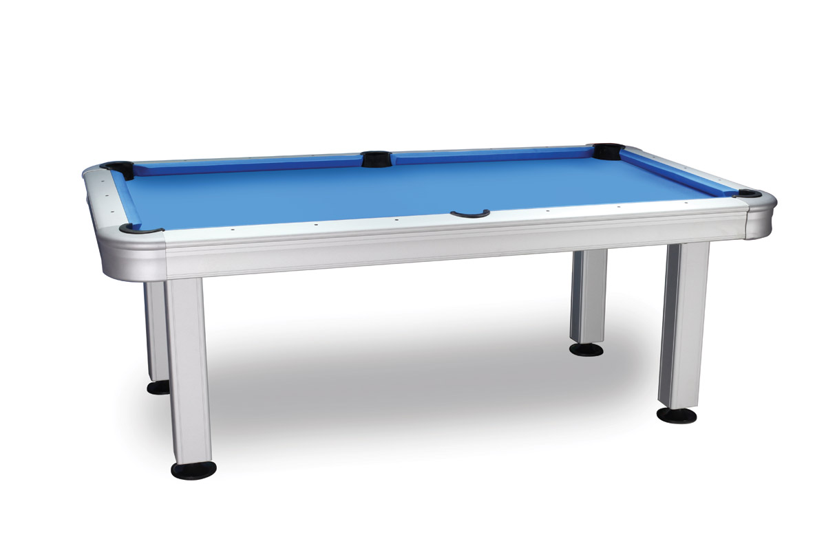 Aluminum 7' Outdoor Pool Table