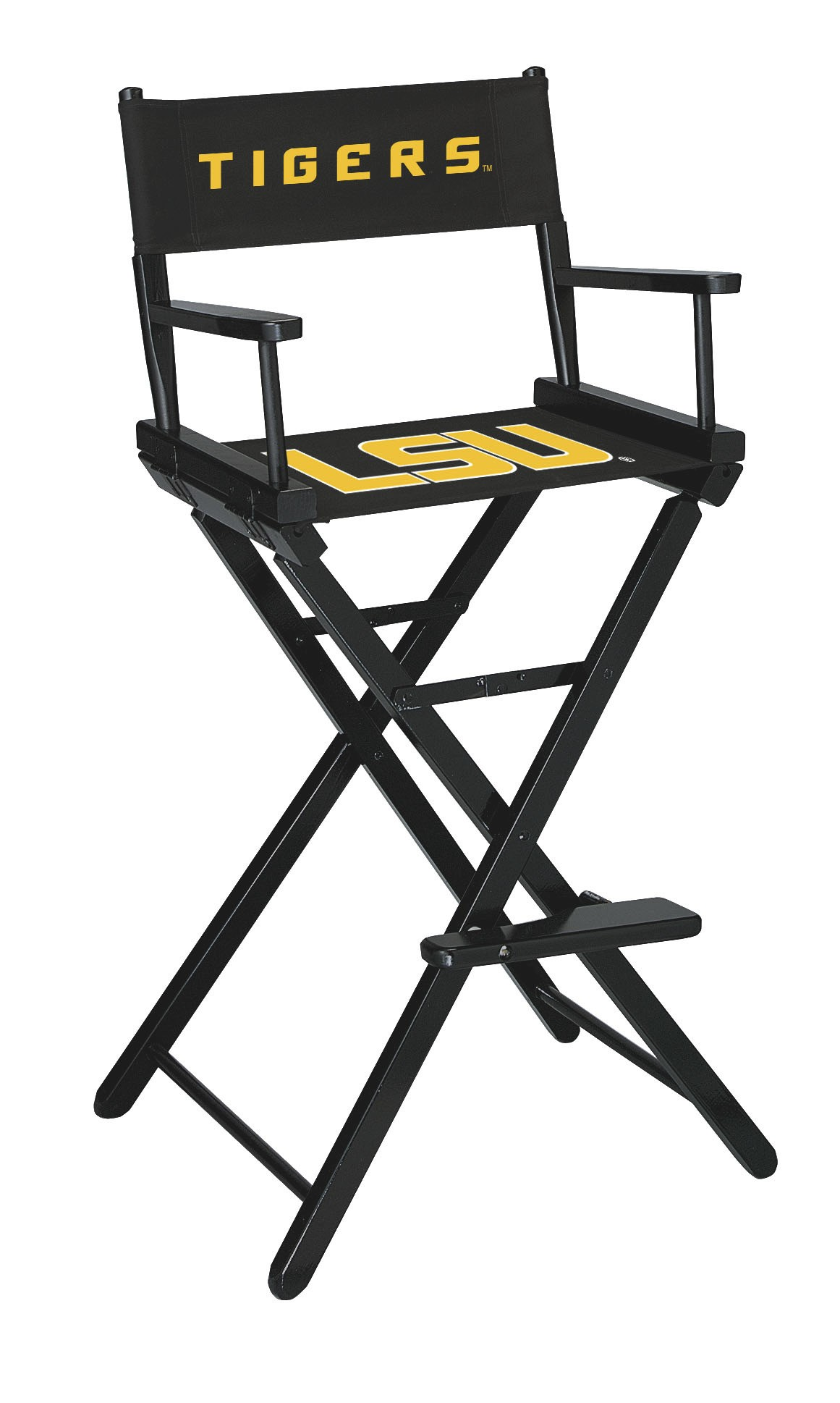 LOUISIANA STATE UNIVERSITY BAR HEIGHT DIRECTORS CHAIR