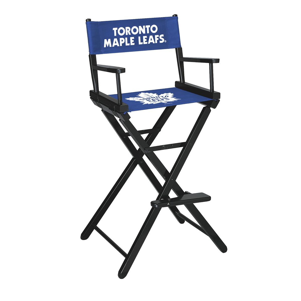 TORONTO MAPLE LEAFS® BAR HEIGHT DIRECTORS CHAIR