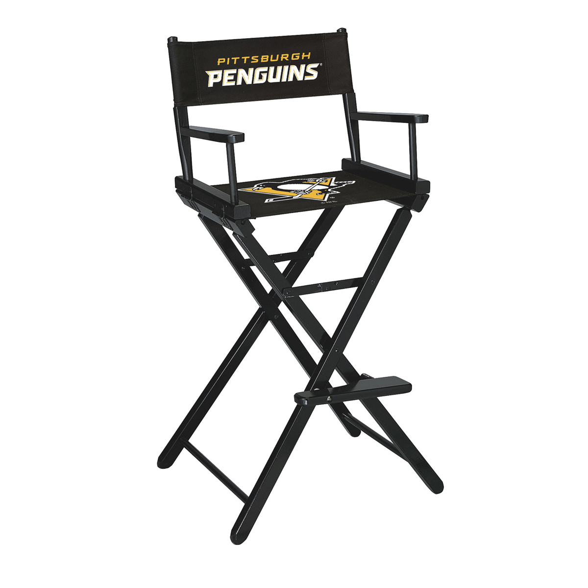PITTSBURGH PENGUINS® BAR HEIGHT DIRECTORS CHAIR