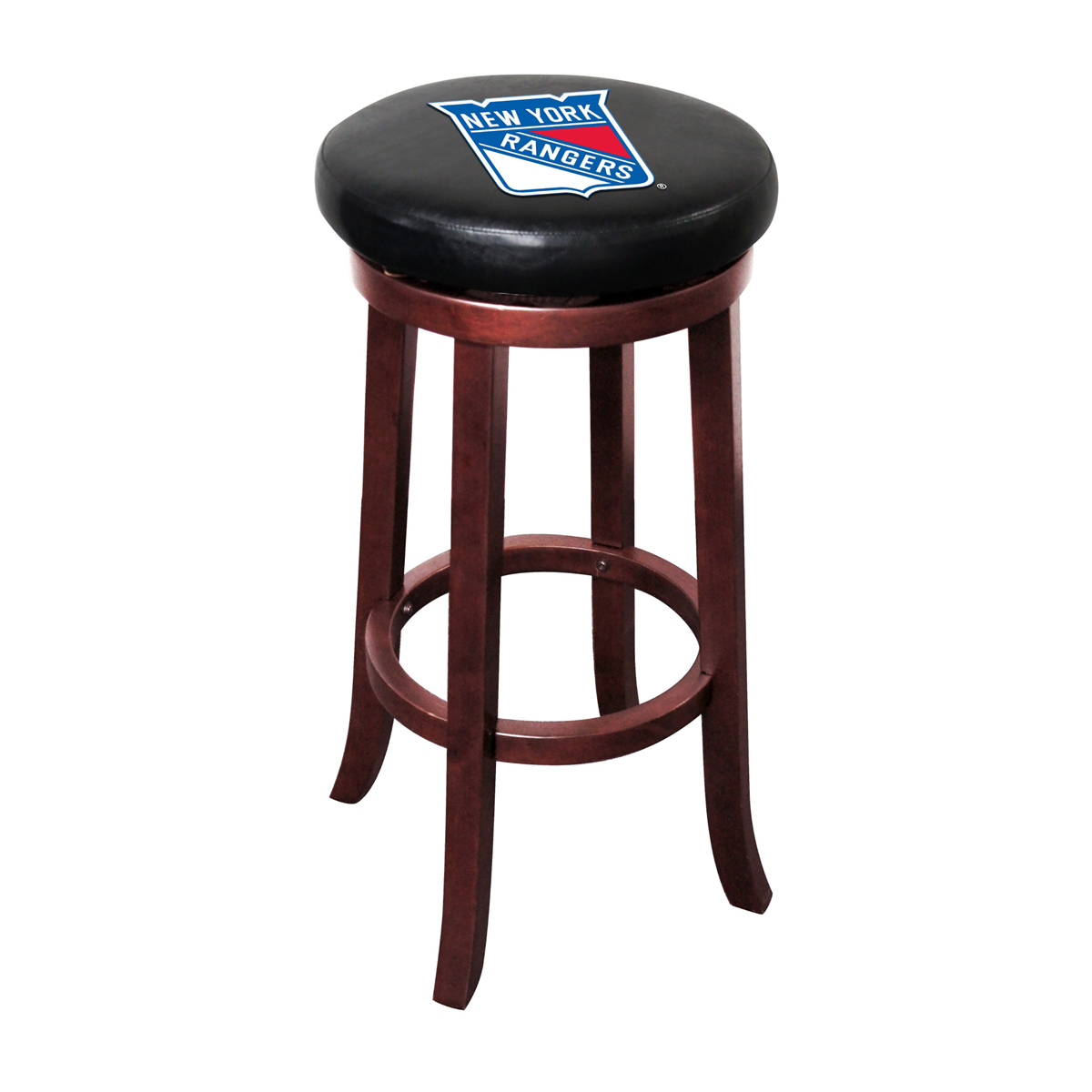 NEW YORK RANGERS® WOOD BAR STOOL