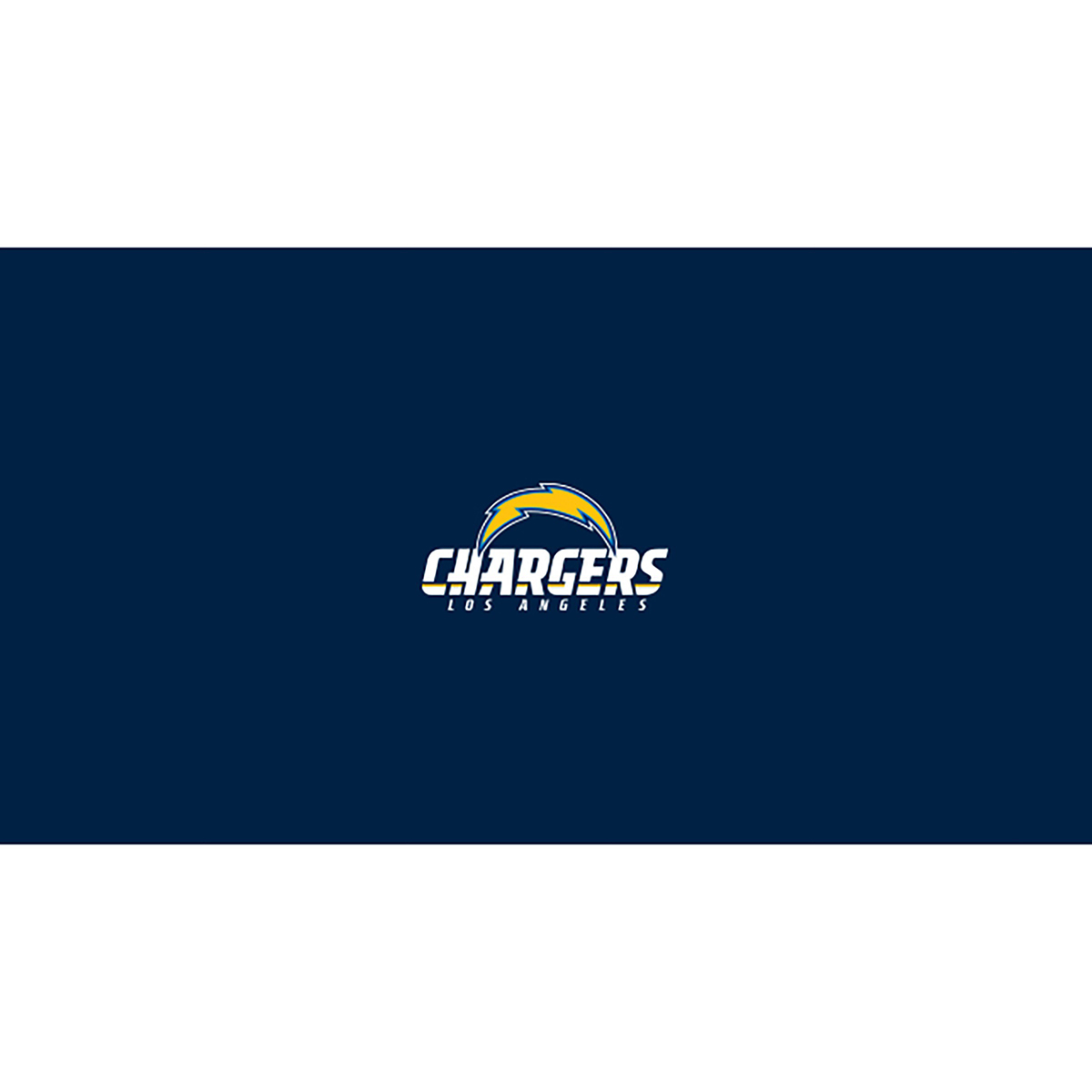 LOS ANGELES CHARGERS 8-FOOT BILLIARD CLOTH
