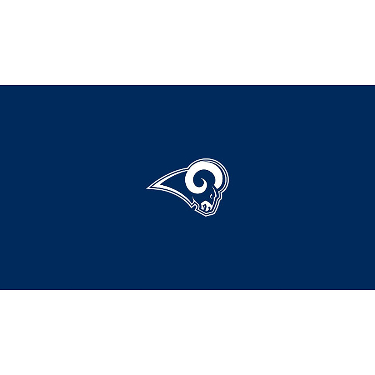 LOS ANGELES RAMS 8-FOOT BILLIARD CLOTH