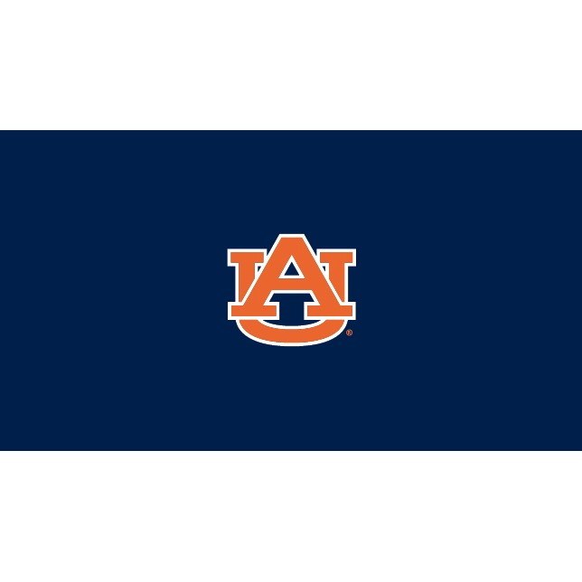 8' Auburn University Collegiate Logo Pool Table