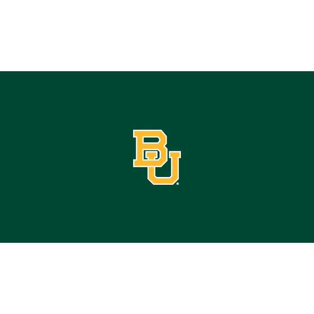 BAYLOR UNIVERSITY 8-FOOT BILLIARD CLOTH