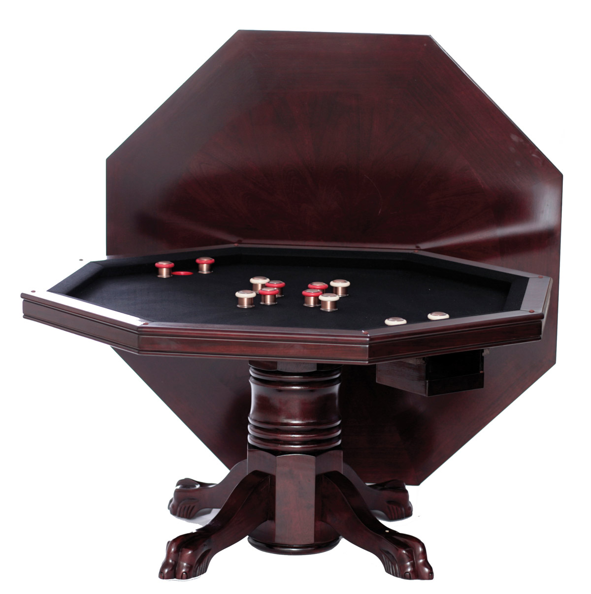 Dining poker bumper pool table