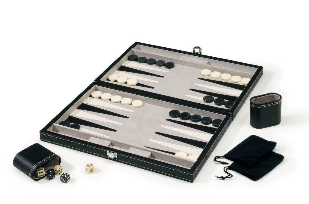 Backgammon Accessories Included!