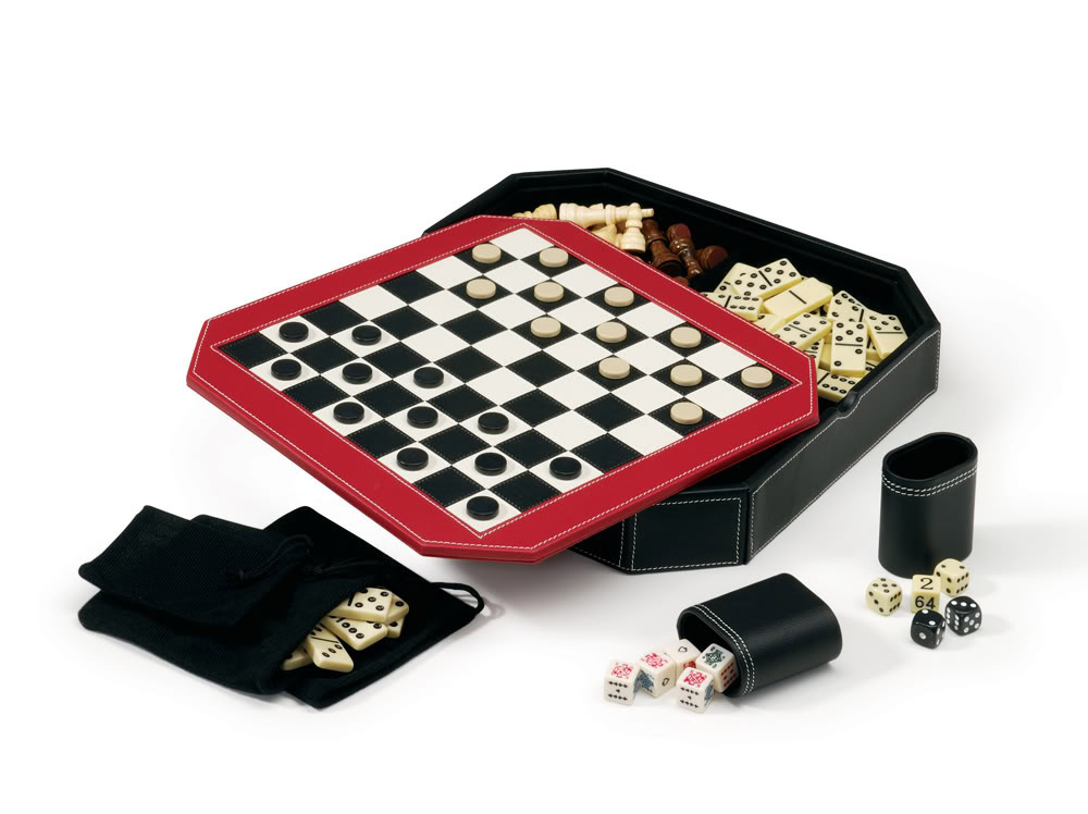 Octagon 5-in-1 Game Set