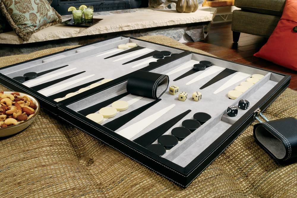 "Classic 18"" Backgammon Set"