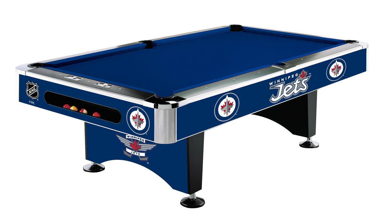 WINNIPEG JETS™ 8 FT. POOL TABLE