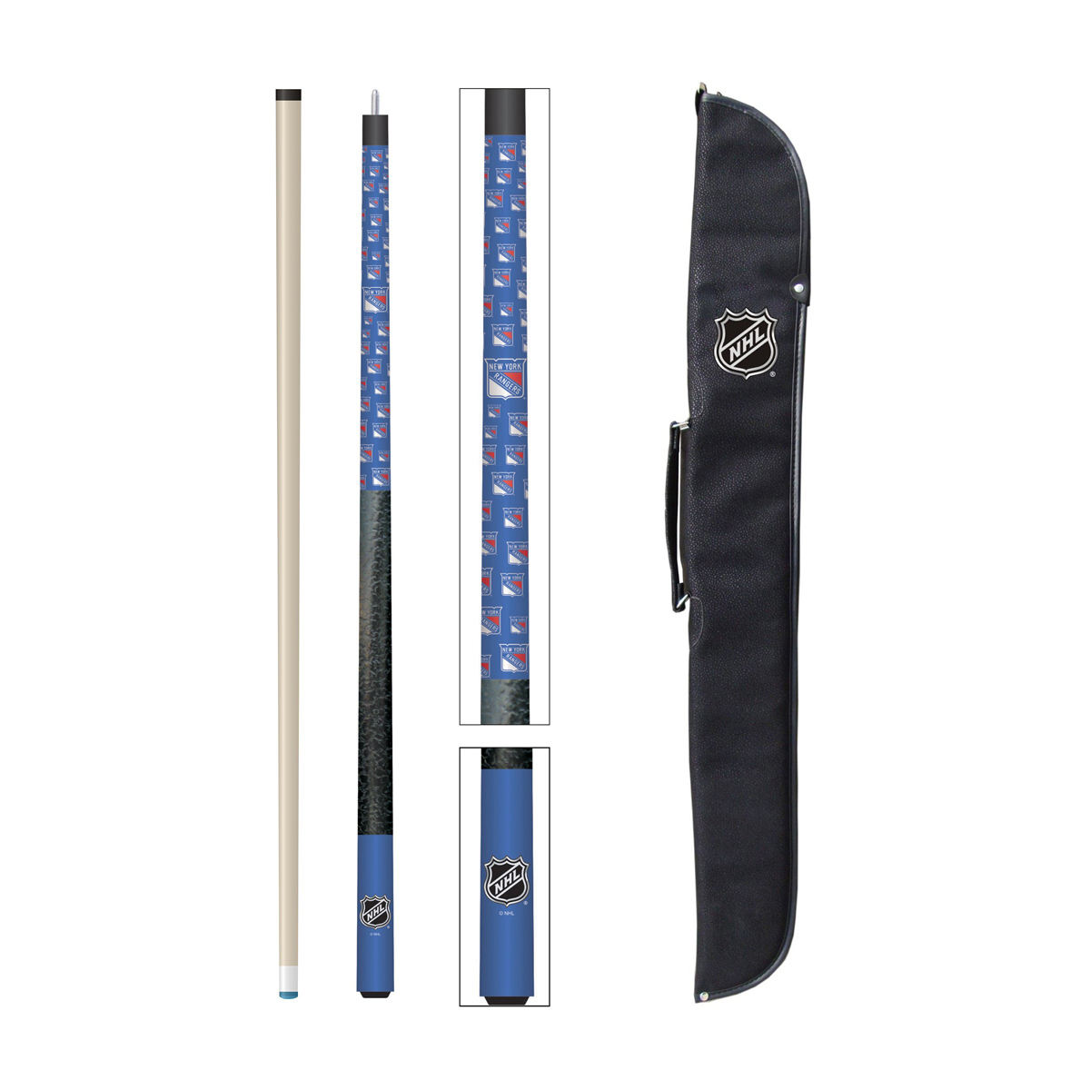 NEW YORK RANGERS® CUE AND CASE SET