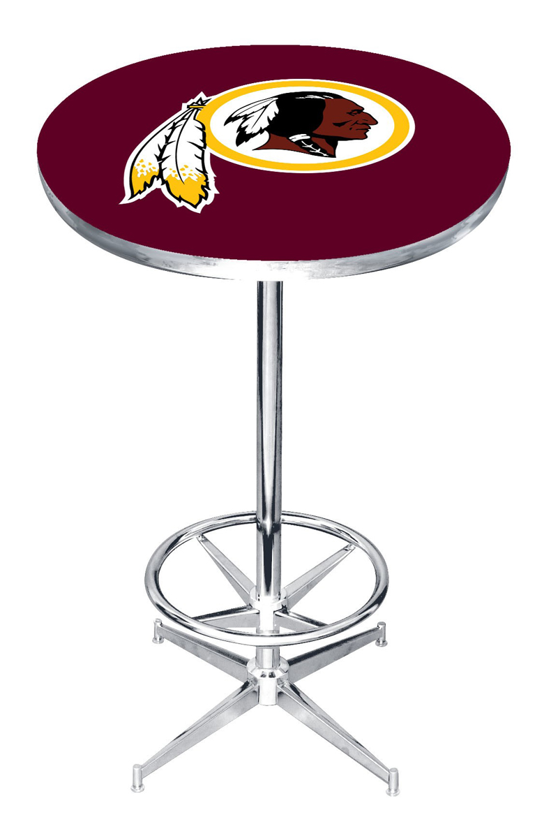 WASHINGTON REDSKINS PUB TABLE