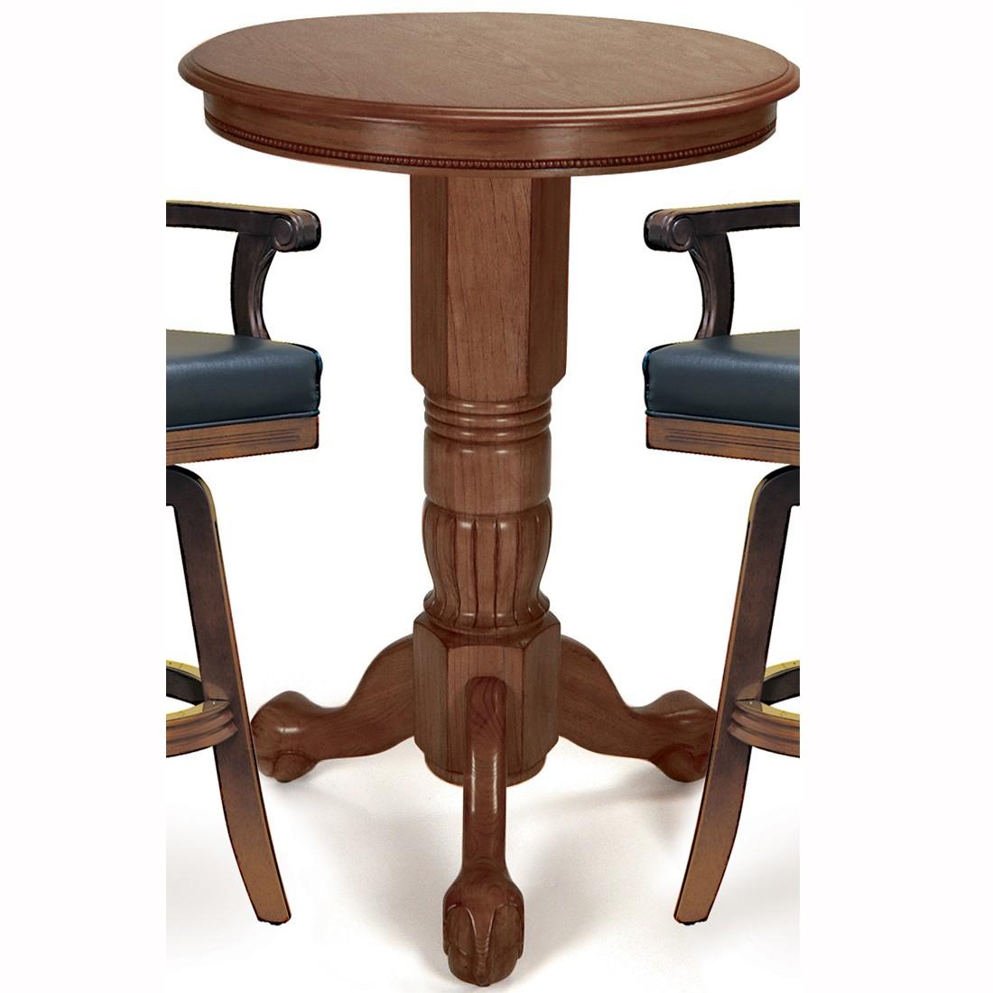 walnut pub table images