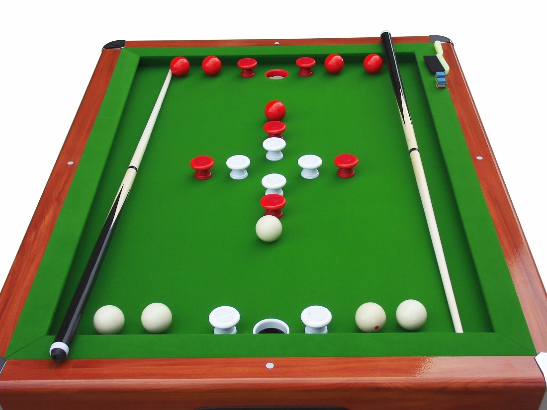 Hartford Wood Bed Bumper Pool Table Game Tables Online